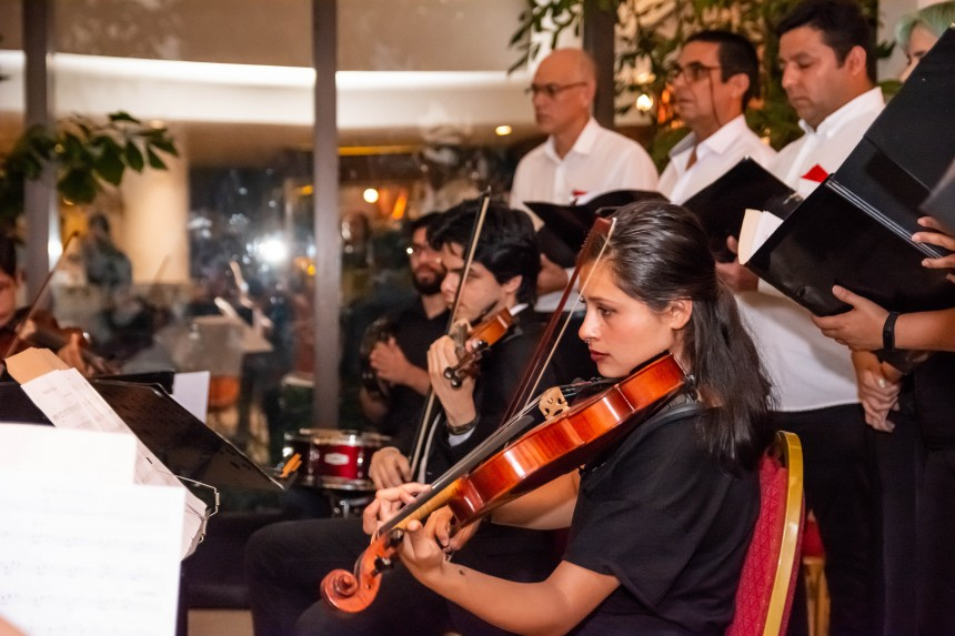 El Hotel Casino Acaray acompañó las pasadas fiestas de manera especial