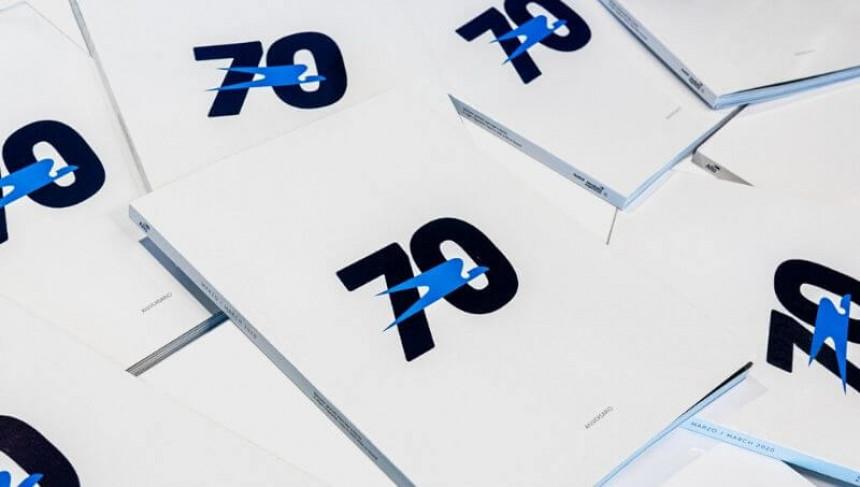 Aerolíneas Argentinas celebra 70 aniversario con nuevo logo
