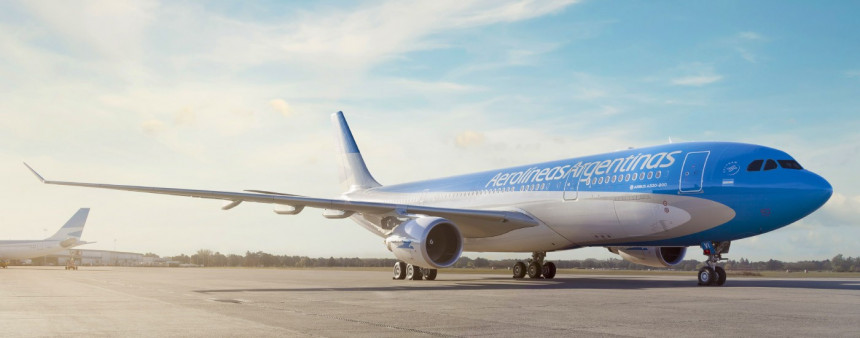 Aerolineas Argentinas retoma operaciones comerciales en Asunción