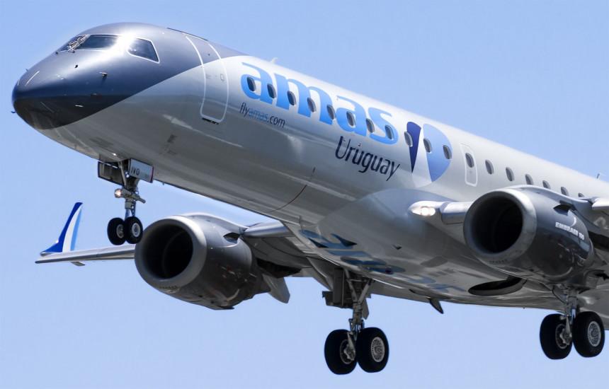 Amaszonas reinicia vuelos a Paraguay con una frecuencia semanal