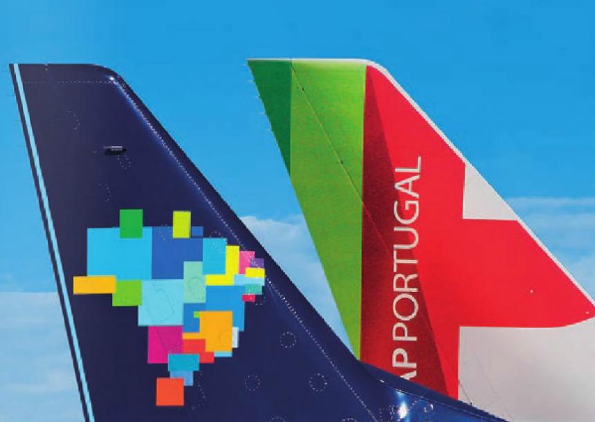 Azul y TAP incrementarán la conectividad entre Brasil y Europa