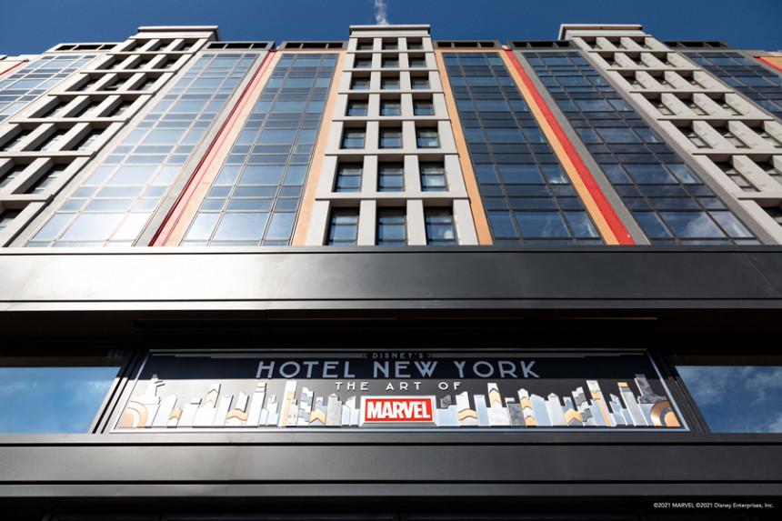 Disney revela detalles de su nuevo hotel en Paris dedicado a Marvel - Hoteles - Contacto News
