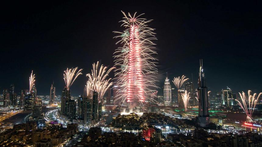 Dubai confirma show de fuegos artificiales en la víspera de Año Nuevo