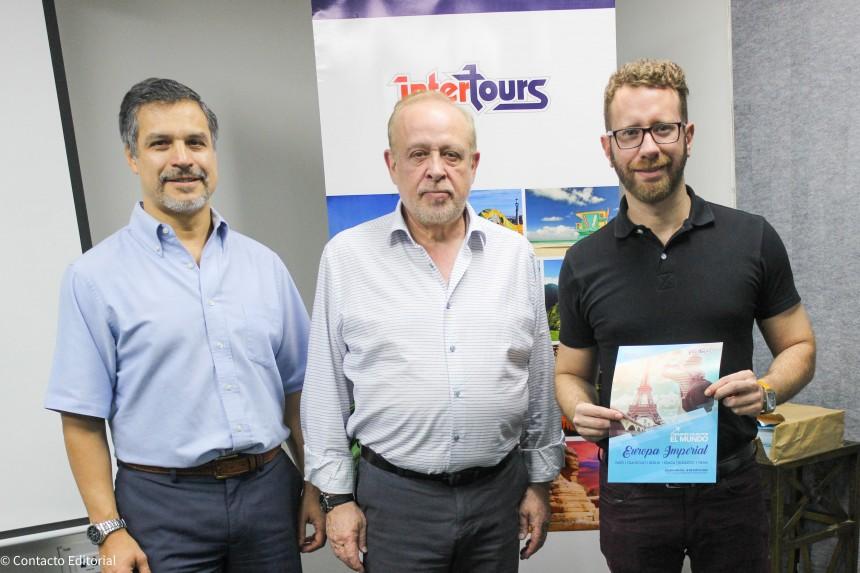 Nelson Ferreira, Miguel Martin y Ronnie Murdoch