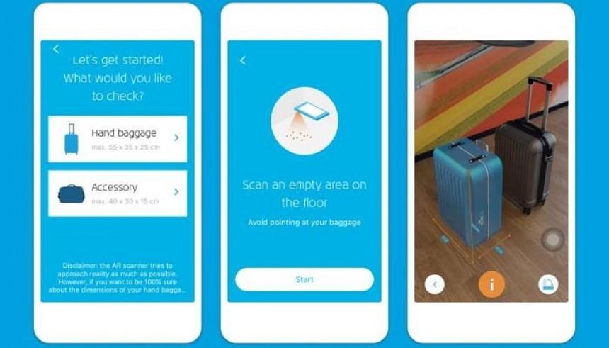 KLM emplea realidad aumentada para gestionar equipaje