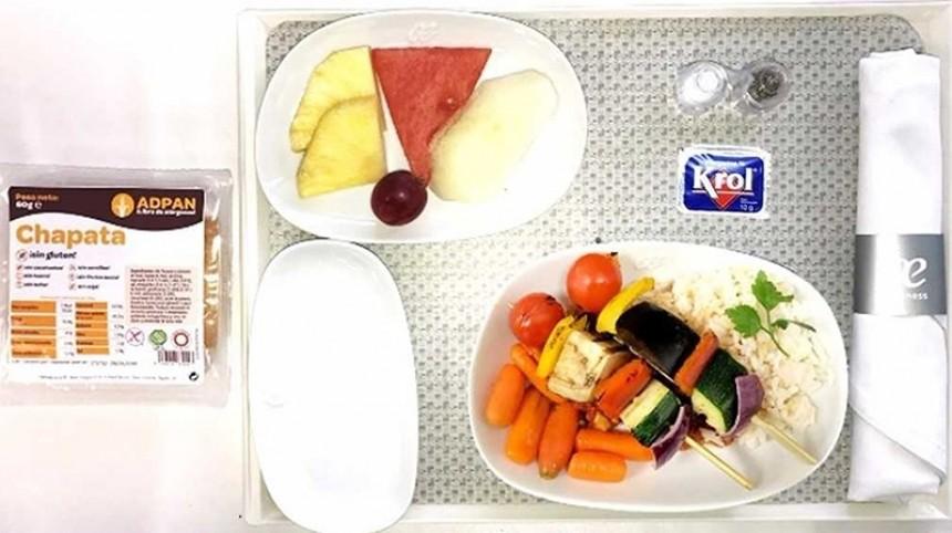 Nuevo menu de Air Europa
