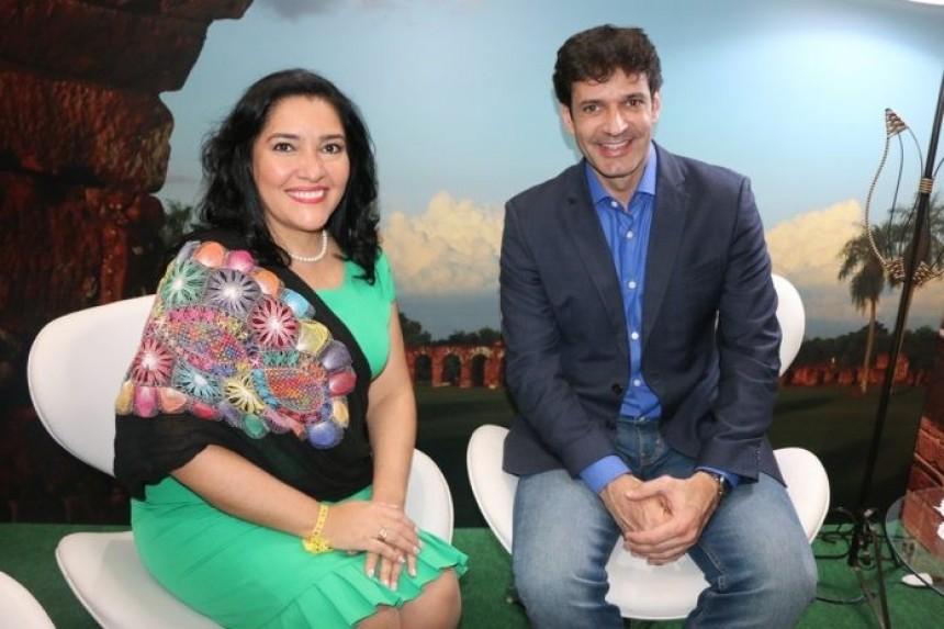 Sofia Montiel y Marcelo Álvaro Antonio