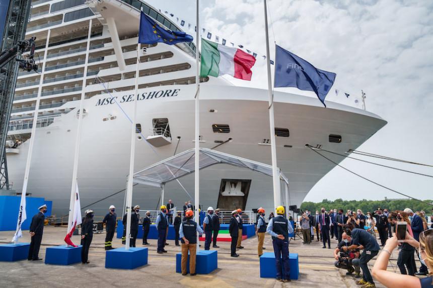 MSC Cruceros recibe al MSC Seashore, su nuevo buque insignia