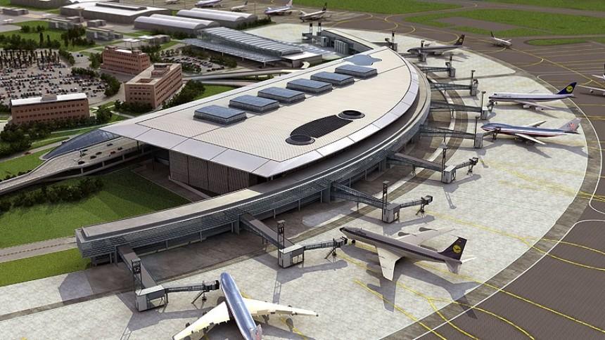 Imagen del nuevo aeropuerto de Ezeiza