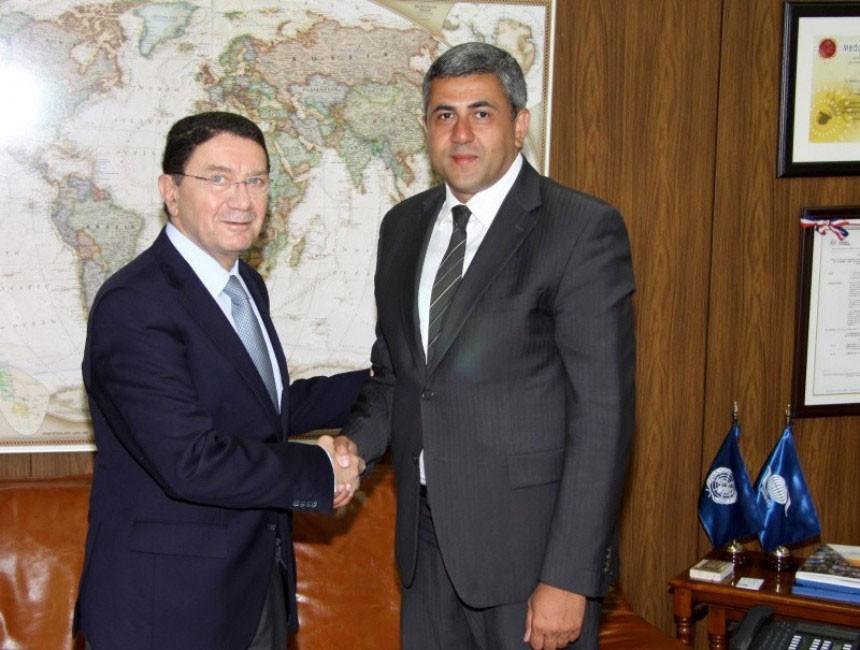 Taleb Rifai y Zurab Pololikashvili