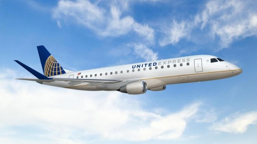 Aviones Embraer 175 de United Airlines