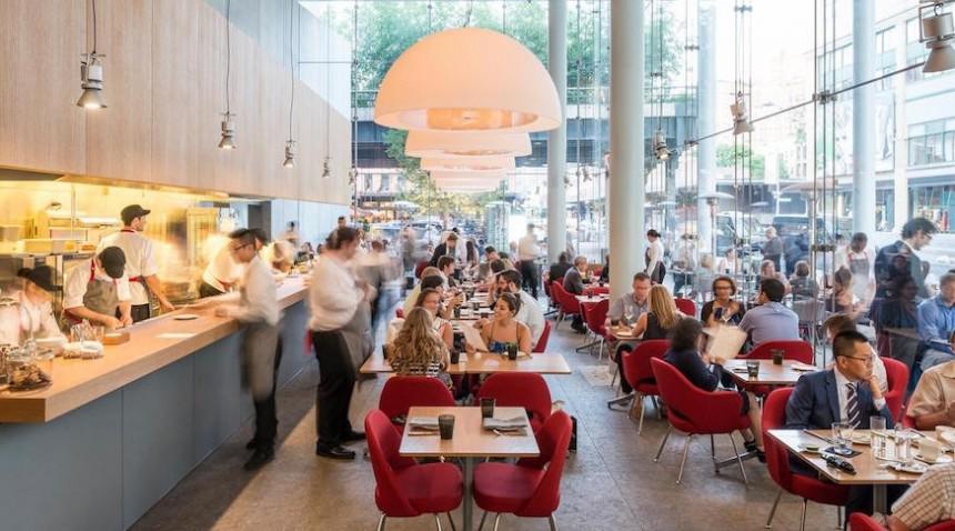 Restaurant Unitled ubicado en el Whitney Museum