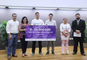 Premiaron a los mejores proyectos turísticos juveniles