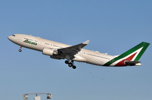 Alitalia reporta incremento en la demanda de vuelos intercontinentales