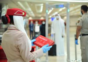 Emirates introduce más medidas de higiene para combatir la propagación del COVID-19