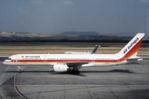 Air Europa celebra 30° aniversario de primer vuelo ETOPS