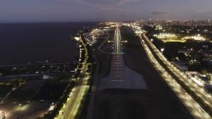 Aeroparque Jorge Newbery, en Buenos Aires, reinicia operaciones
