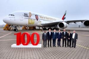 Emirates celebra una década operando el Airbus 380