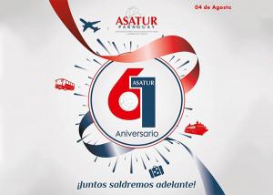 ASATUR celebró 61 años de trabajo institucional