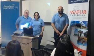Aerolíneas Argentinas promovió buenas prácticas en Ciudad del Este