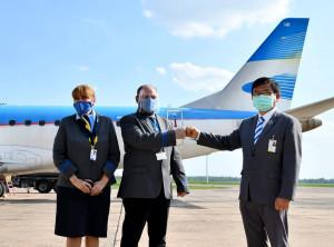 Aerolineas Argentinas reinicia operaciones en Paraguay