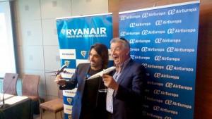 Air Europa y Ryanair establecen alianza de largo radio