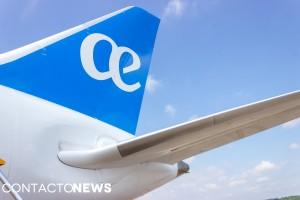 El B787-8 Dreamliner de Air Europa arribó por primera vez a Paraguay