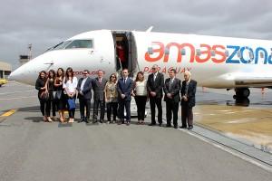 Amaszonas Paraguay finaliza el año inaugurando dos nuevas rutas a Brasil