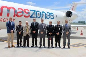 Amaszonas inaugura nuevas conexiones directas con Brasil