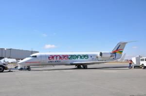 Amaszonas podría volar a Río de Janeiro y Foz de Iguazú