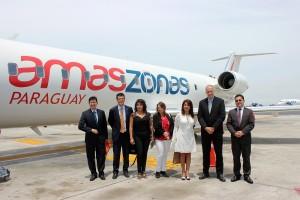 Amaszonas Paraguay inicia vuelos entre Asunción y Lima
