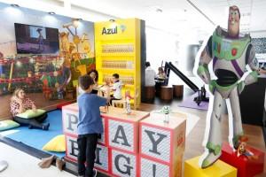 Disney y Azul inauguran espacio en aeropuerto de Viracopos