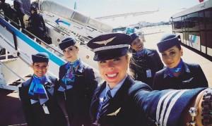 Azul Linhas Aéreas lidera en  número de pilotos y copilotos mujeres