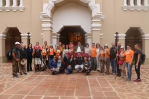 """El """"Camino de las Misiones"""" se inaugura con peregrinos de Argentina y Brasil"""