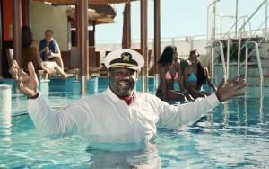 Shaquille O'Neal es imagen de Carnival Cruises
