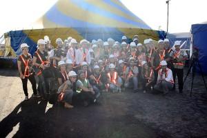 Cirque du Soleil monta su icónica carpa en Asunción
