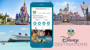 Disney Destinations lanza una página especial en redes sociales para Agentes de Viajes