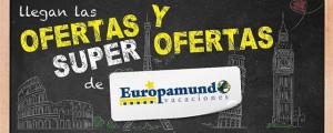 Ofertas y súper ofertas en plataforma de Europamundo