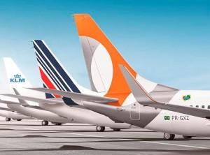 Gol extiende acuerdo de código compartido con Air France-KLM