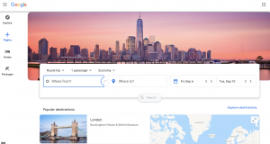 Google ahora indicará si una tarifa de vuelo es típica en base a datos históricos
