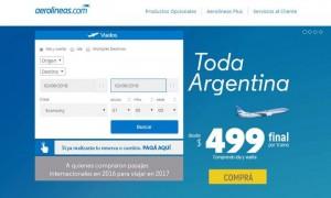 Guerra de precios en la aviación comercial argentina