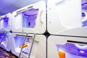Bolivia estrena alojamiento en modernas y futuristas cápsulas