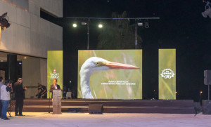 """En una noche plena de música y arte, el Yacht y Golf Club presentó oficialmente su programa """"Avistamiento de Aves"""""""