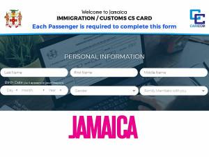 Jamaica agiliza ingreso al país vía online