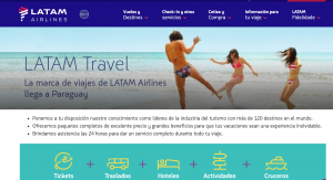Latam Travel anuncia su ingreso al mercado paraguayo