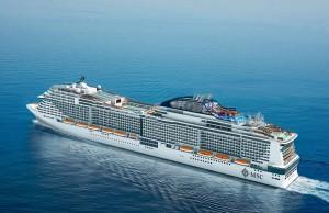 Sudamérica es el segundo mercado en importancia de la MSC Cruceros