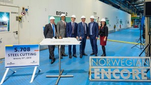Norwegian inicia construcción del último de sus Breakaway Plus