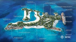 MSC detalla en video las propuestas de su nueva isla privada