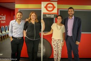 Special Tours y Oppy presentan el primer bus de capacitación enfocado al rubro turístico