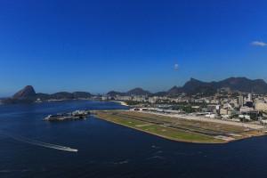 Suspenderán operaciones del aeropuerto Santos Dumont